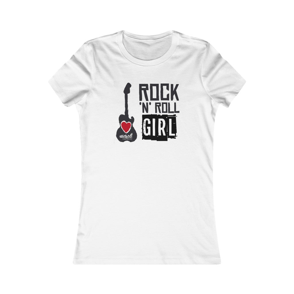 ROCK N ROLL GIRL/ Women's Tee