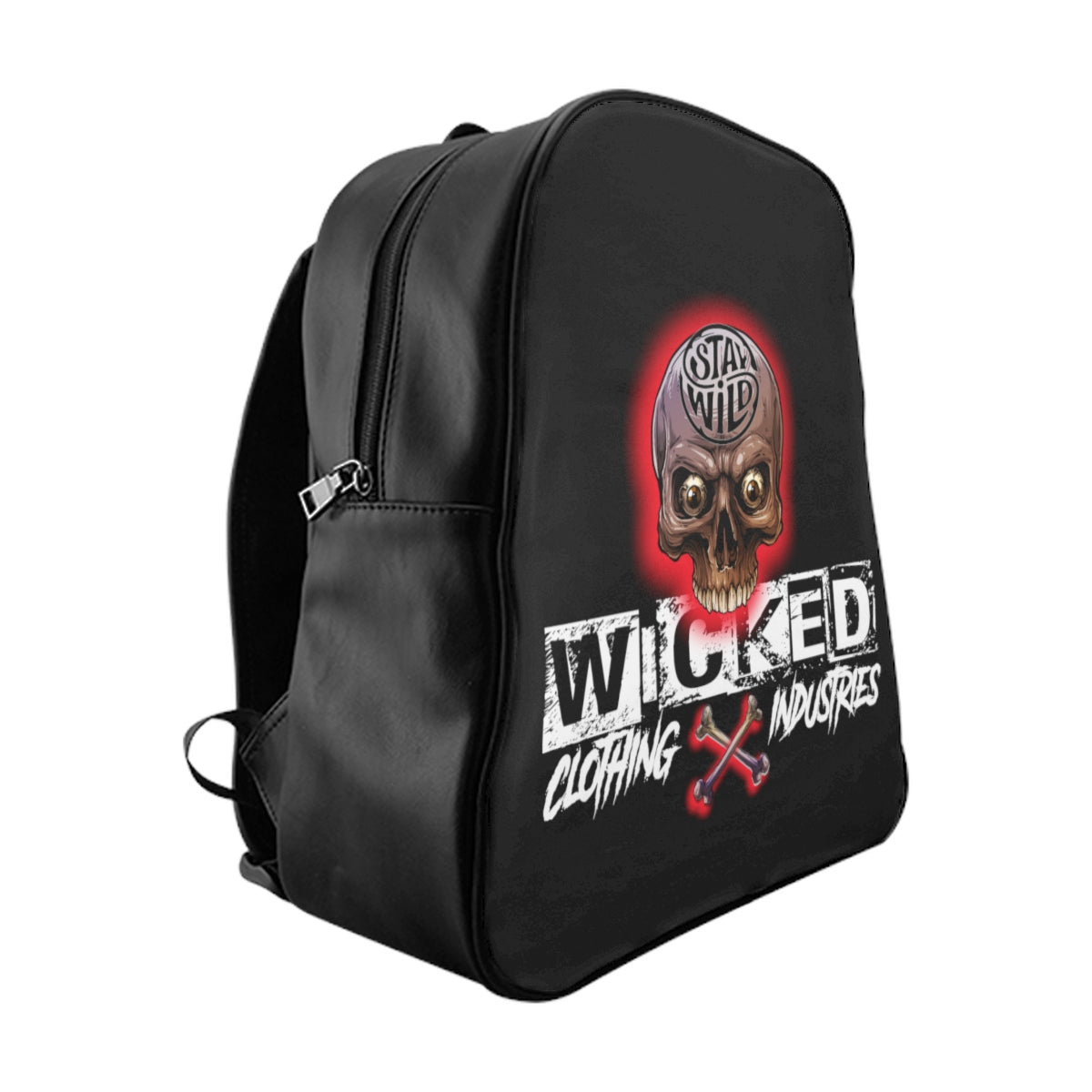 Stay Wild/ School Backpack
