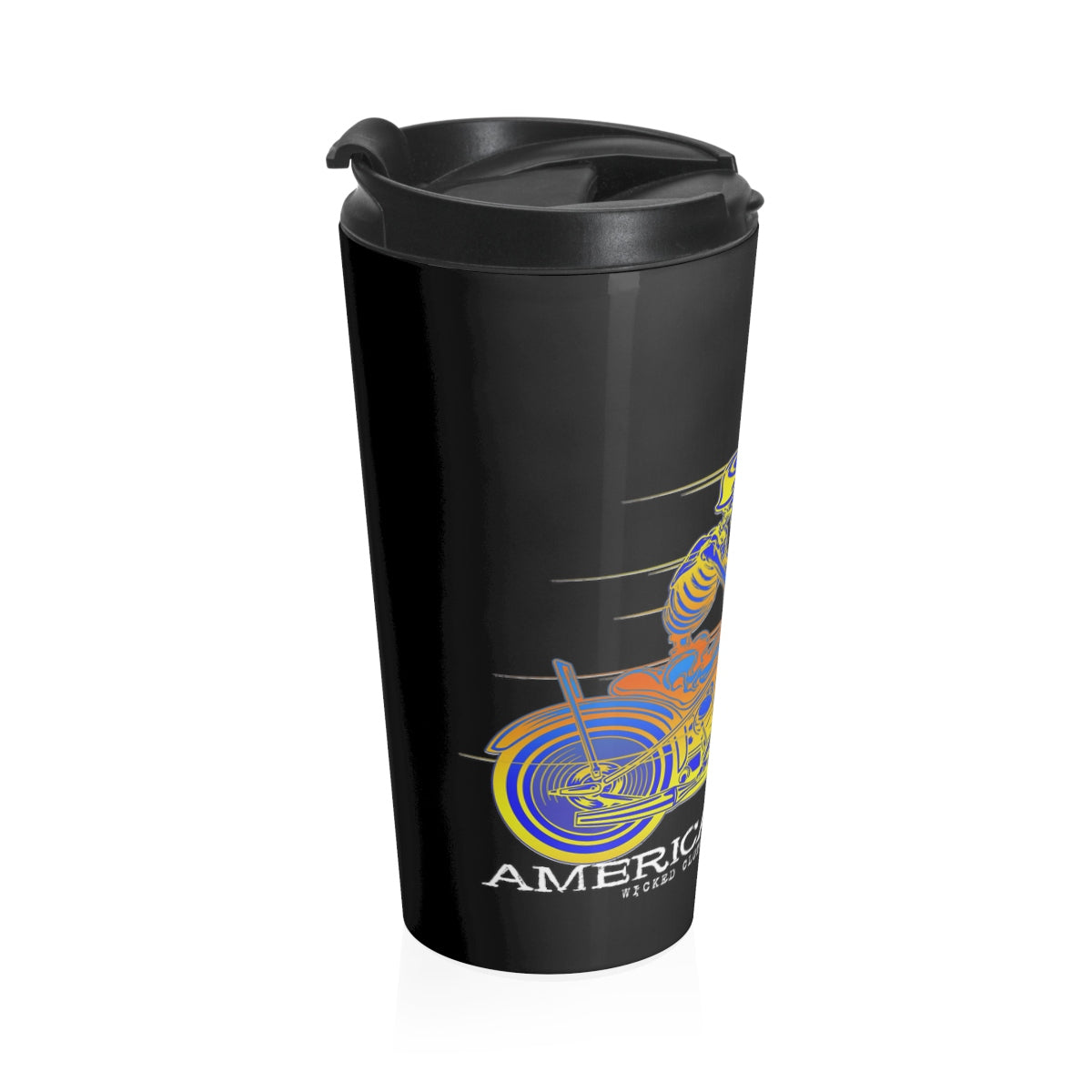 American Outlaw/Stainless Steel Travel Mug