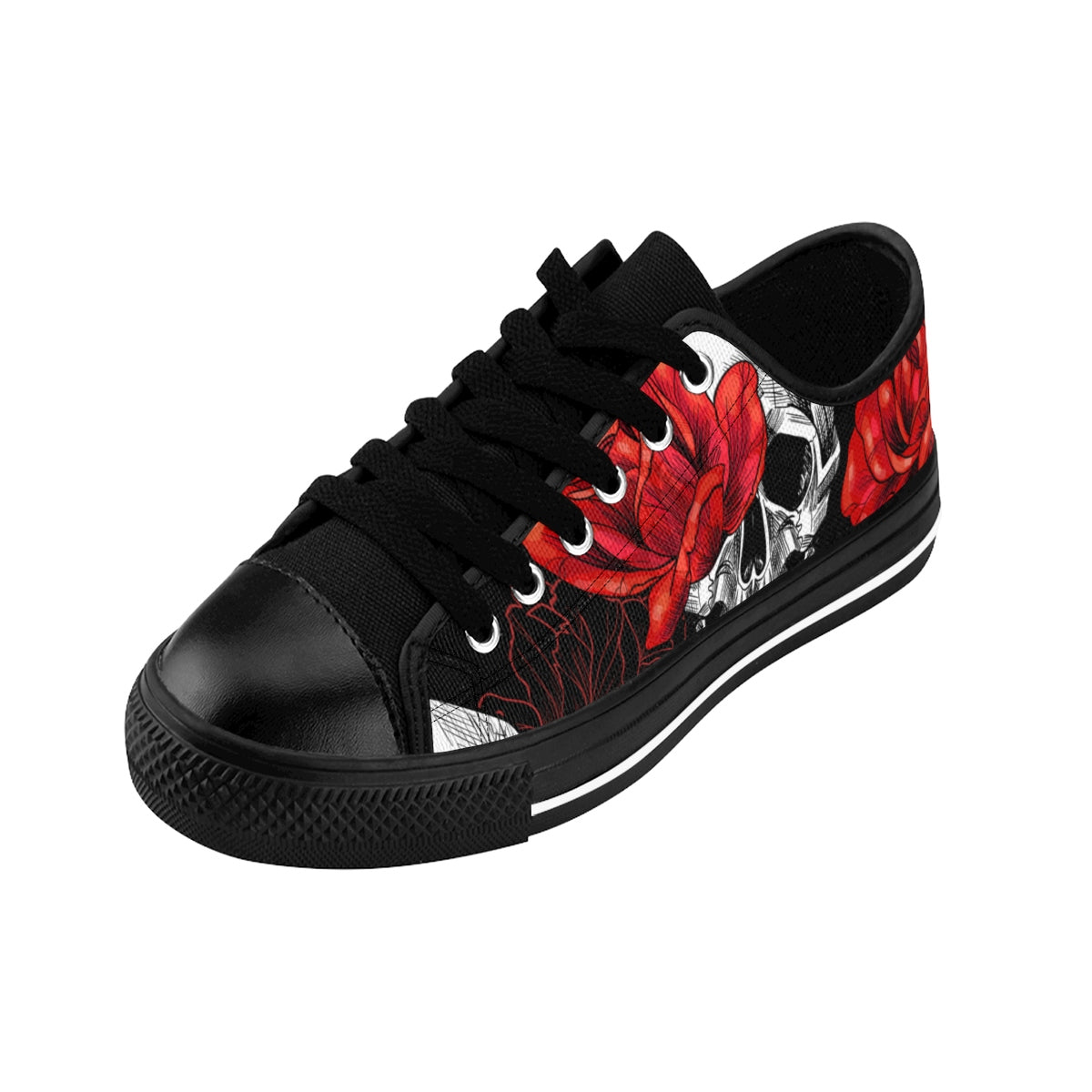 Love & Skulls/Women's Sneakers