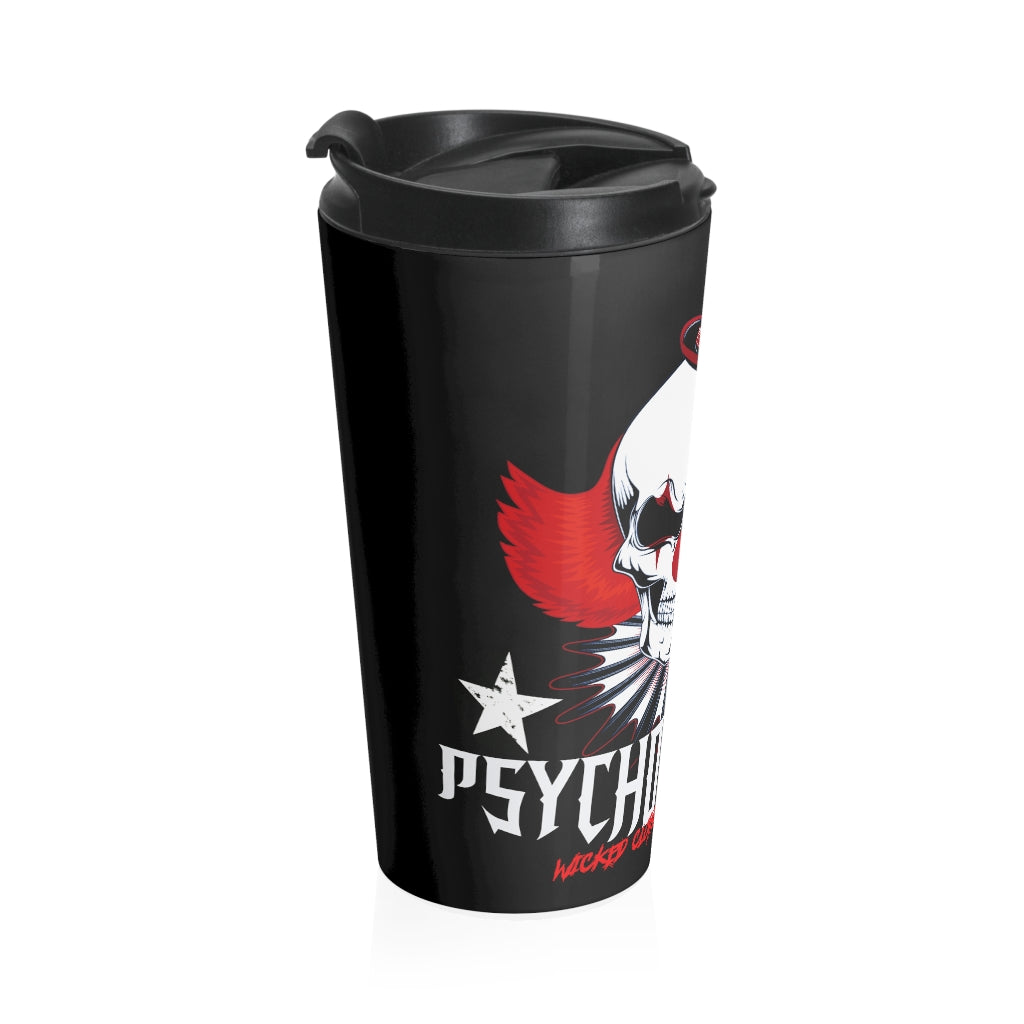 Psycho Circus/Stainless Steel Travel Mug