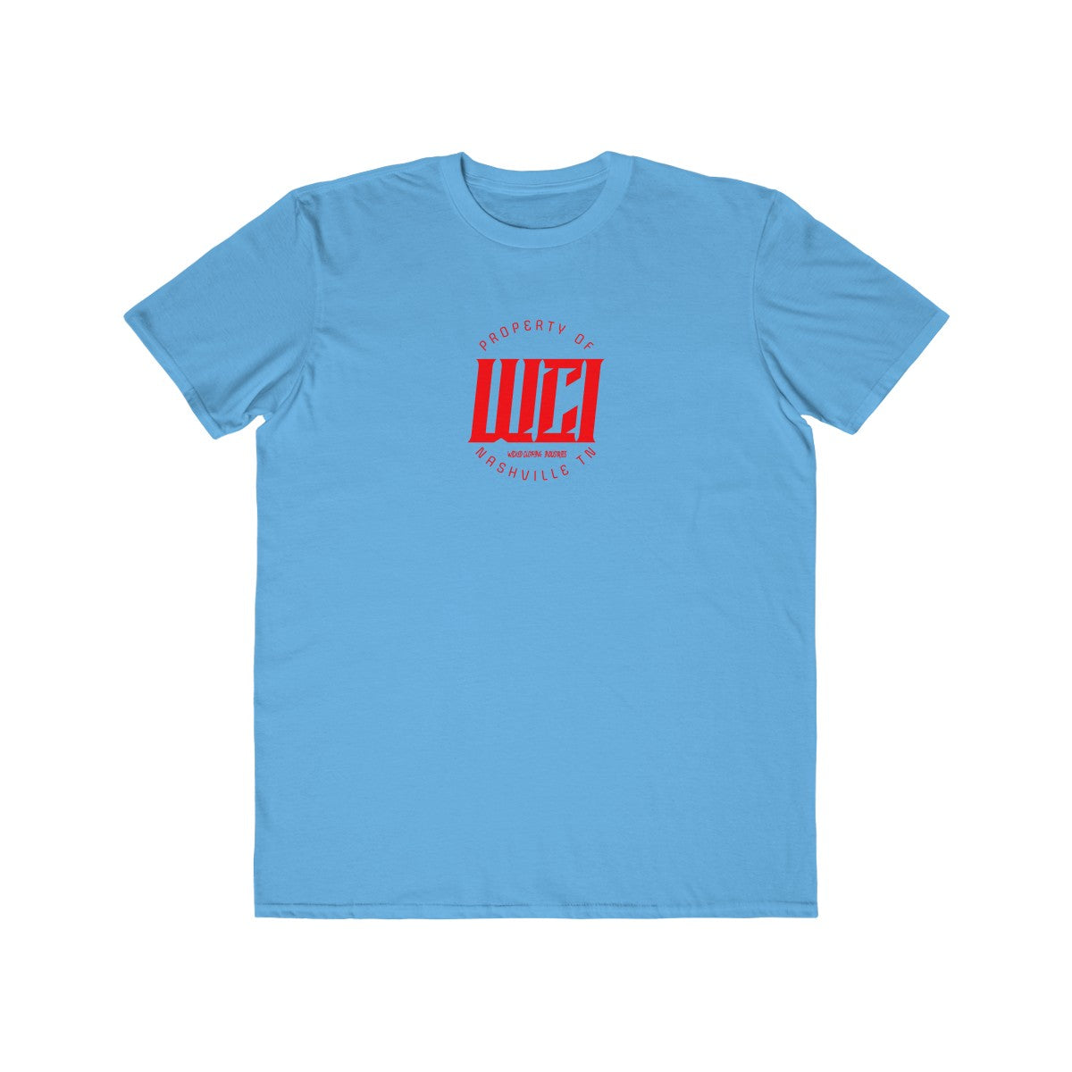 Property Of WCI/Red/Men's  Tee