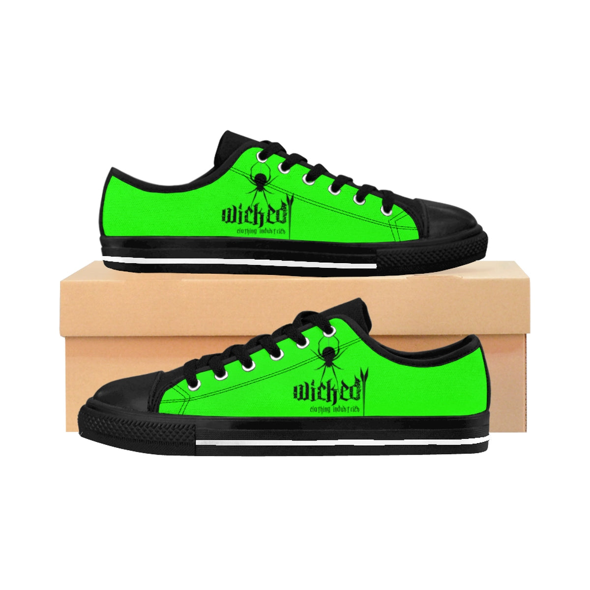 Women's Wiked Widow Neon Green/2/ Sneakers