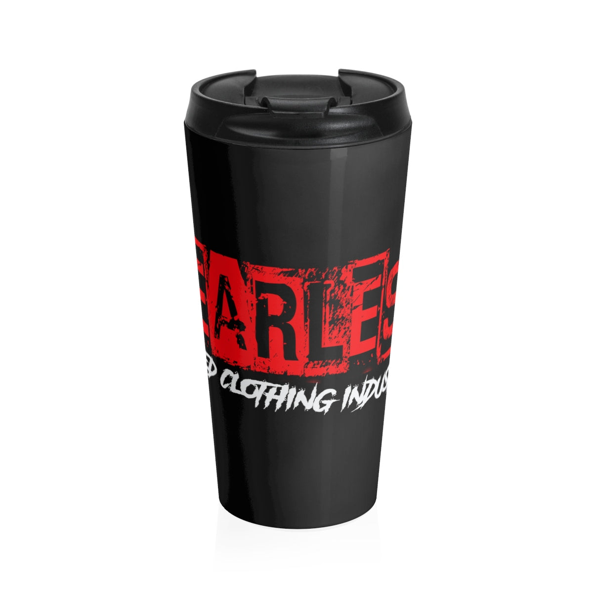 Fearless/Red /Stainless Steel Travel Mug