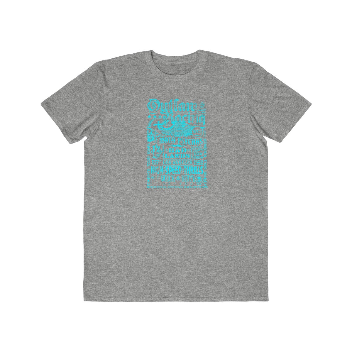 Outlaw Racing/Teal 2/Men's  Tee