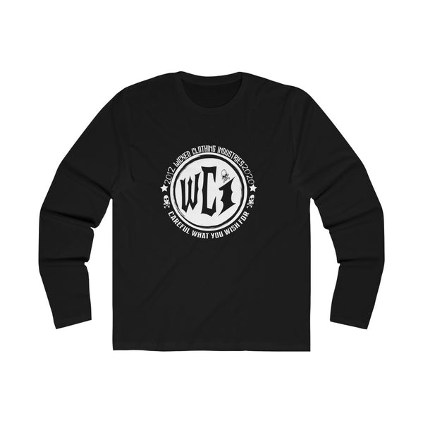 Careful What You Wish For/Men's Long Sleeve Crew Tee