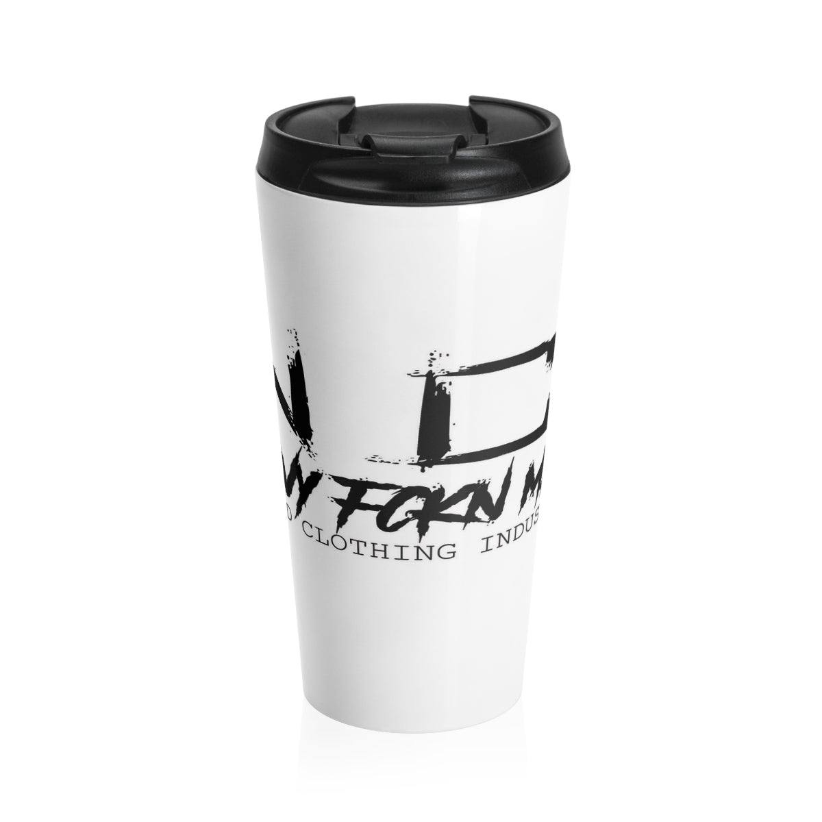 Heavy FCKN Metal/Stainless Steel Travel Mug