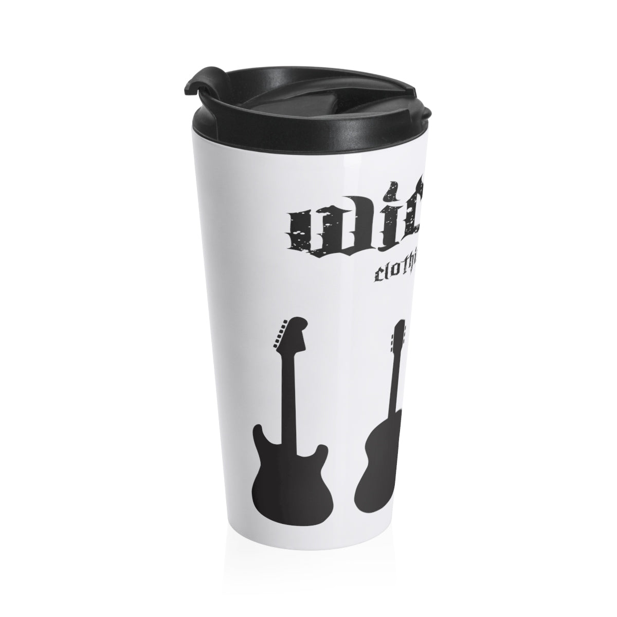 Guitars/ Stainless Steel Travel Mug