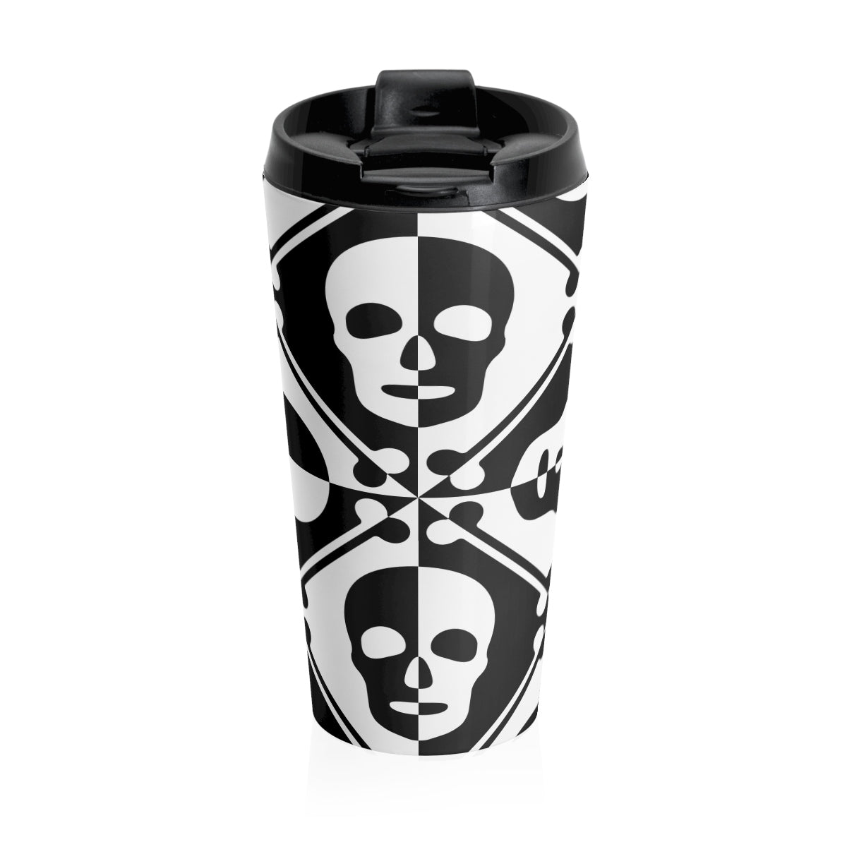 Two Faced/ Stainless Steel Travel Mug