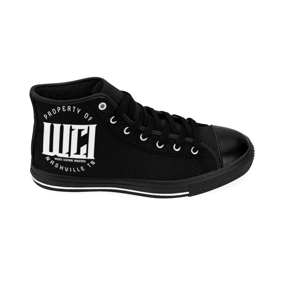 WCI /White/2019/Women's High-top Sneakers