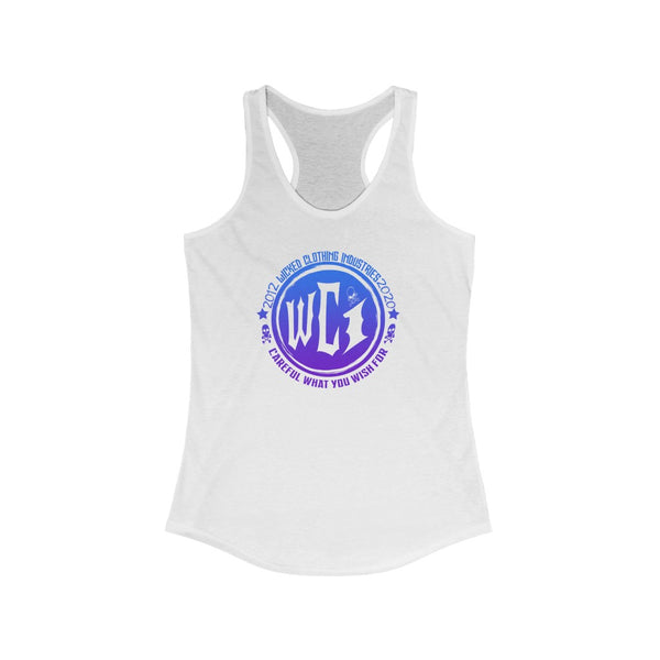 Ocean Breeze /Careful What You Wish For/Women's Ideal Racerback Tank