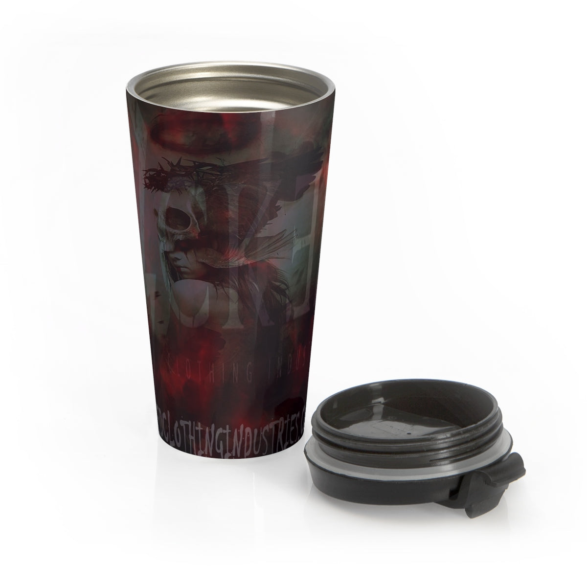Stainless Steel Travel Mug/ WICKED WITCH
