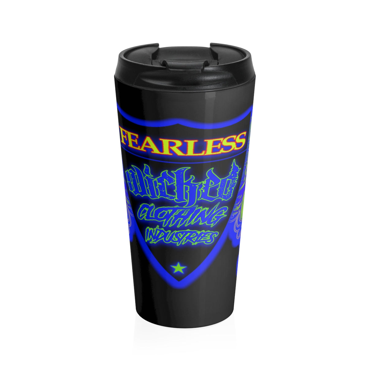 FEARLESS Stainless Steel Travel Mug