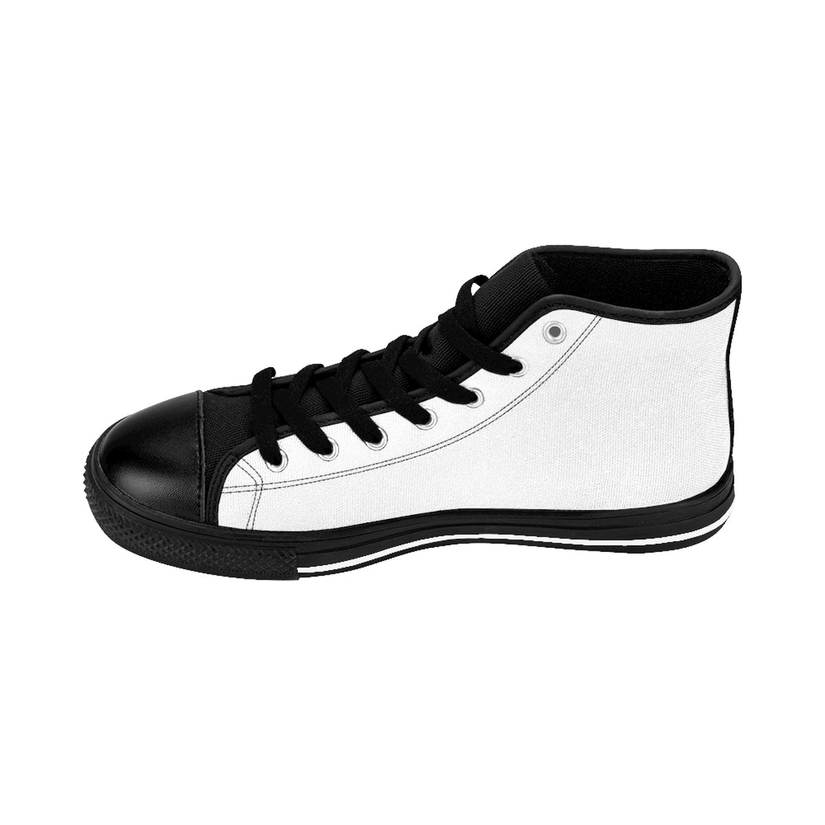 WCI/White/White/Men's High-top Sneakers