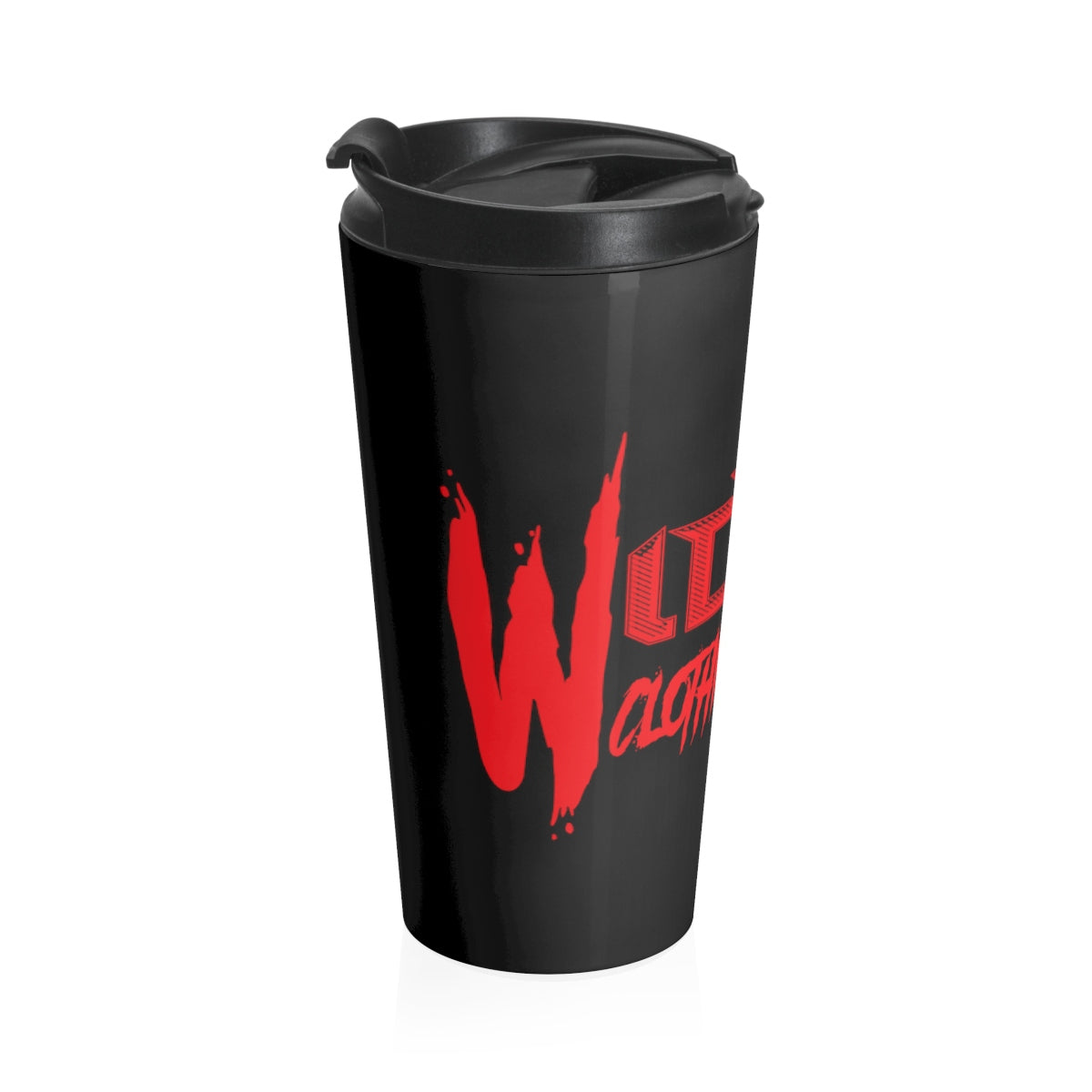 Crave Style/ Red/Stainless Steel Travel Mug