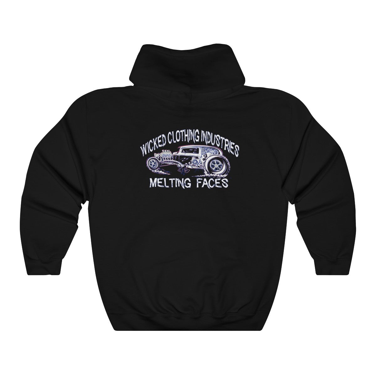 WCI MELTING FACES Unisex Heavy Blend™ Hooded Sweatshirt