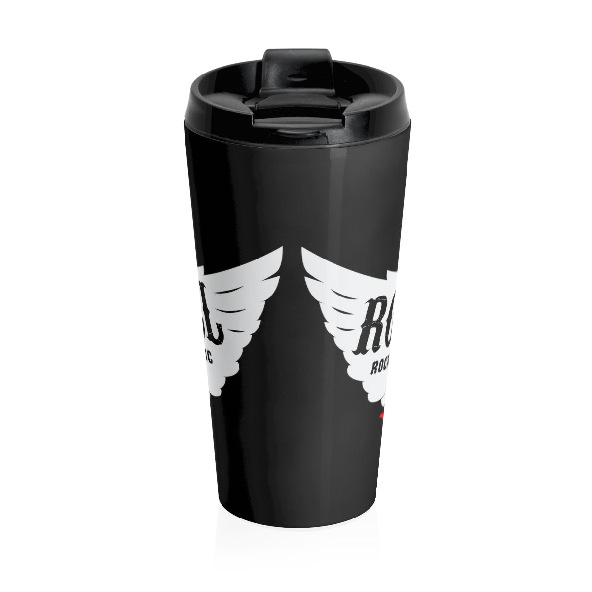 Rock & Roll/Stainless Steel Travel Mug