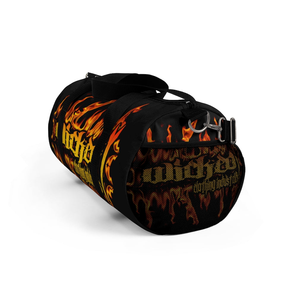 Wicked Flamed Duffel Bag
