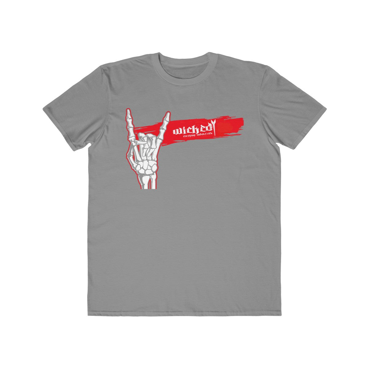Salute to Rock/Red/Men's Lightweight Tee