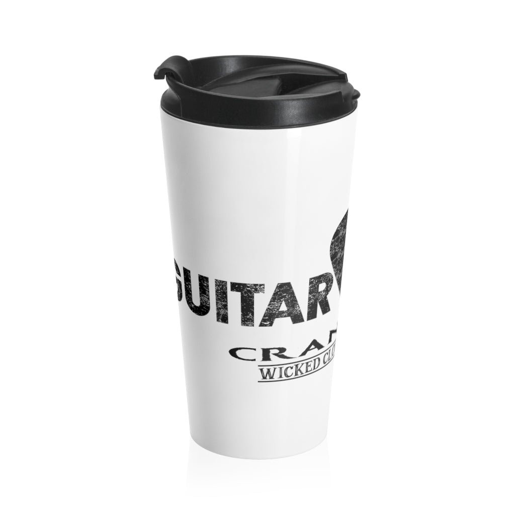 Guitar Riff / Crank It Up/Stainless Steel Travel Mug
