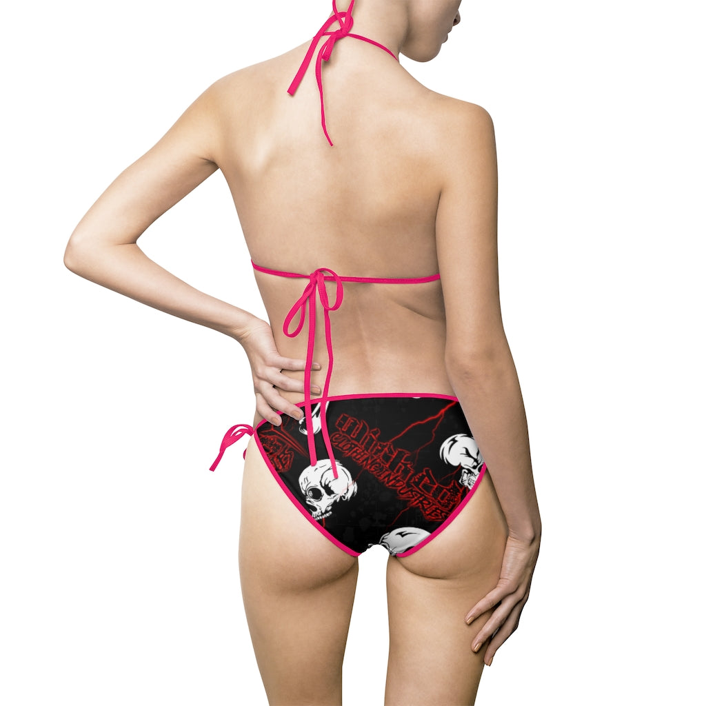 Cartoon Skulls /Women's Bikini Swimsuit