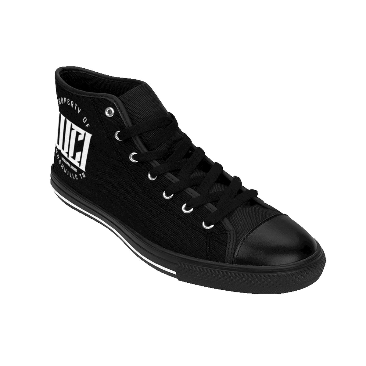WCI/White/Women's High-top Sneakers