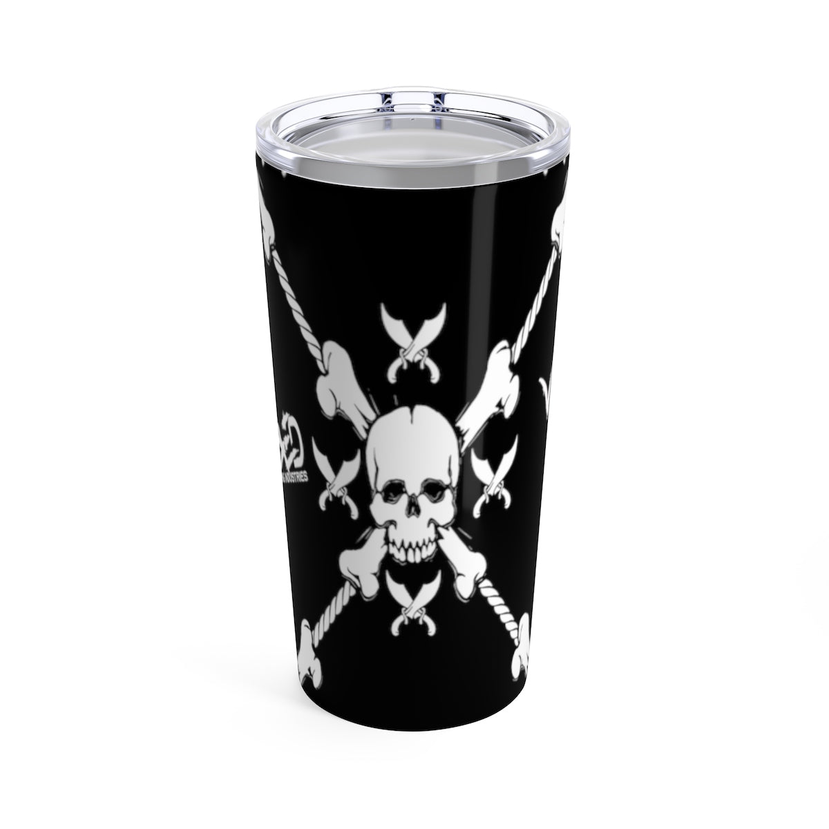 Tumbler 20oz Wicked Pirate