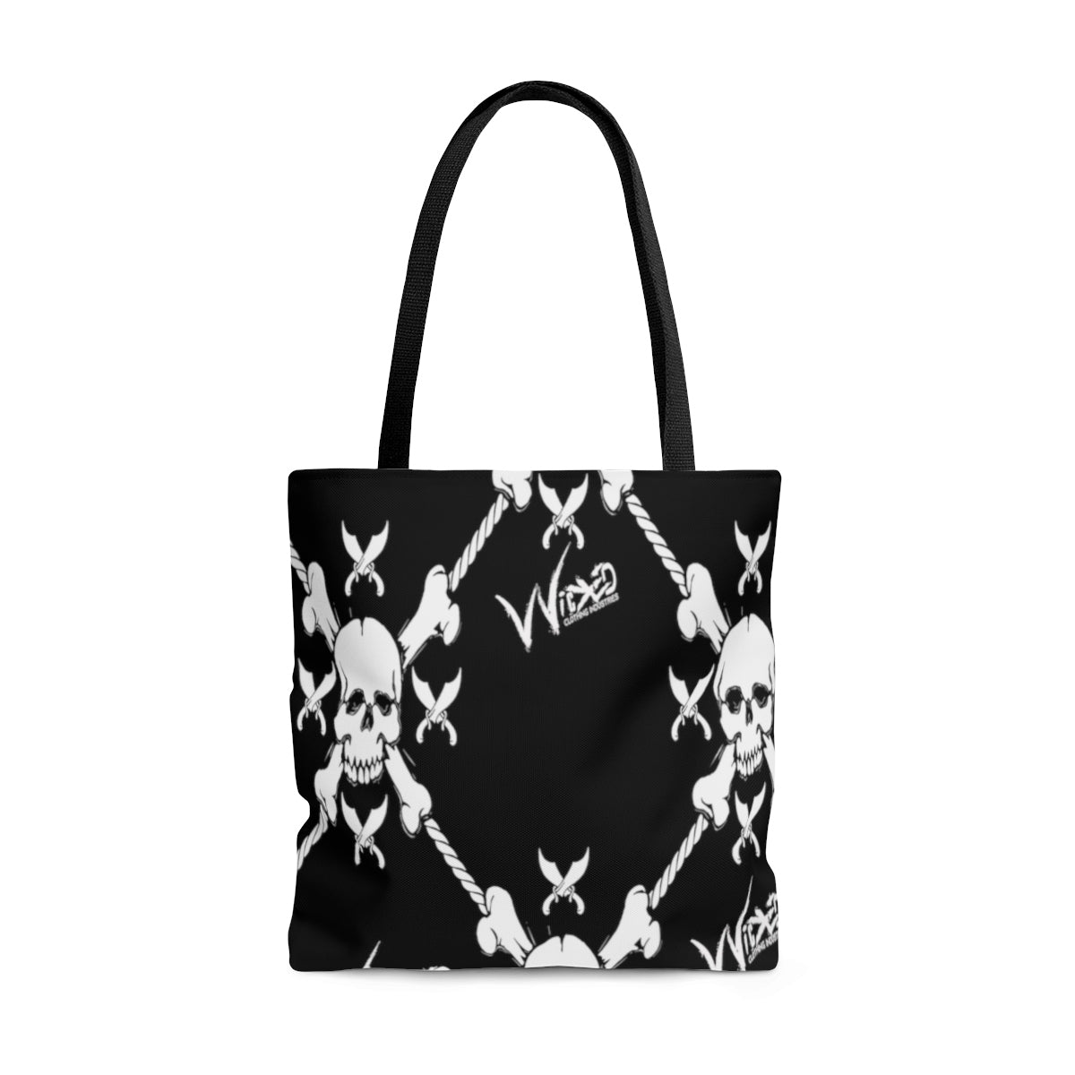 AOP Tote Bag Wicked Pirate