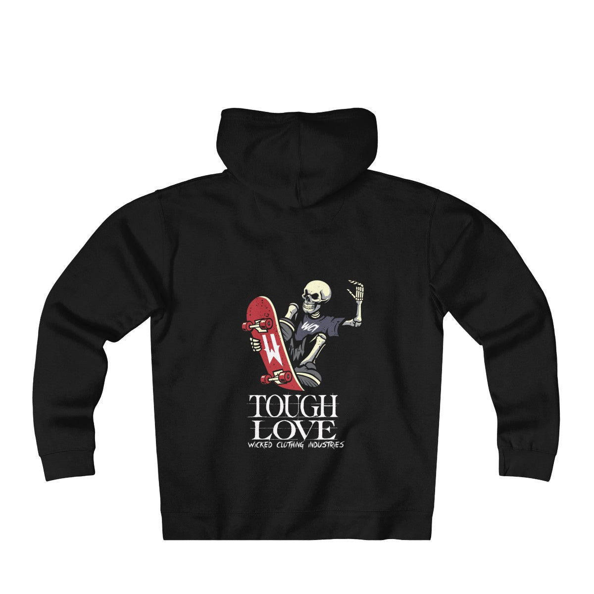 Tough Love/ Heavyweight Fleece Zip Hoodie