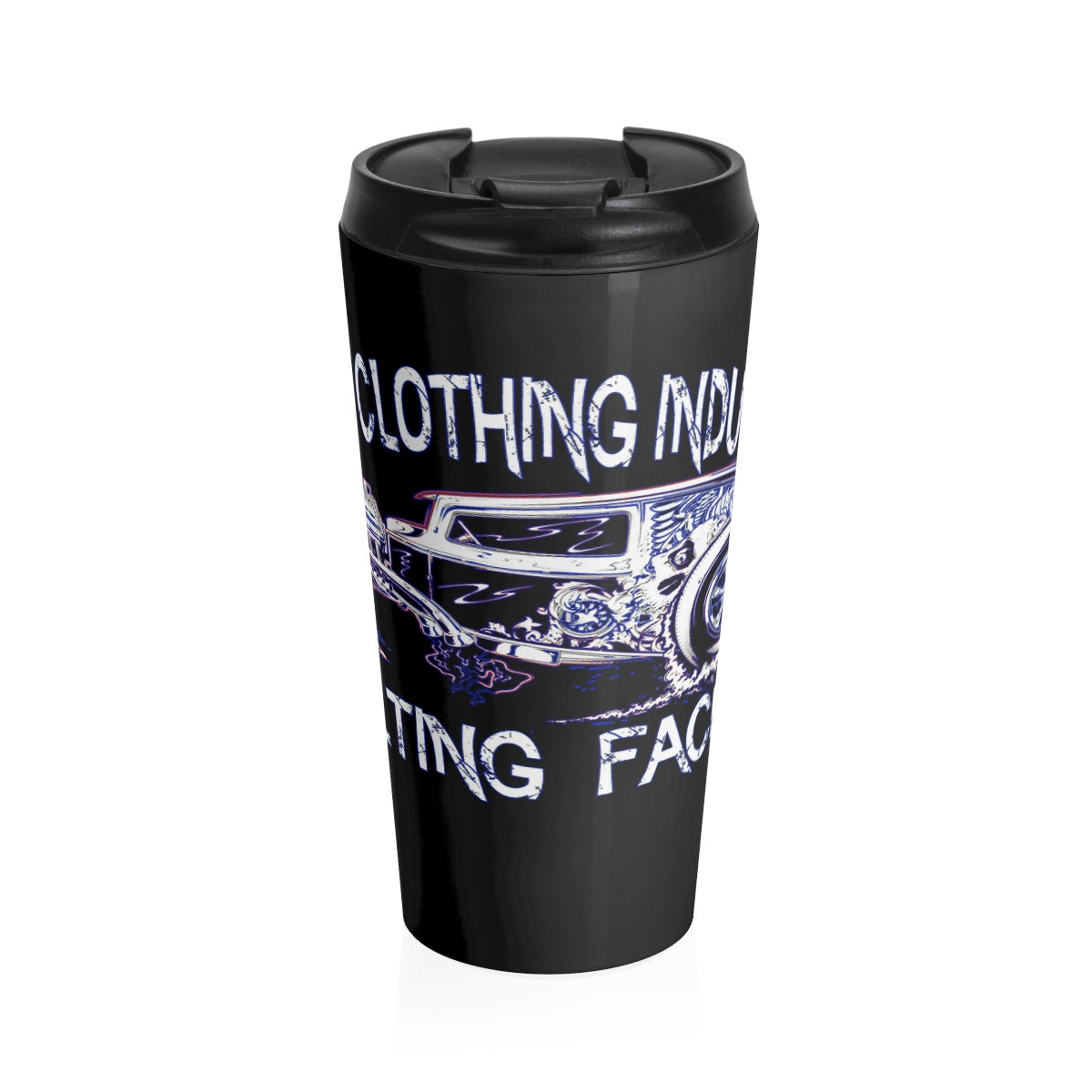 Melting Faces/Stainless Steel Travel Mug