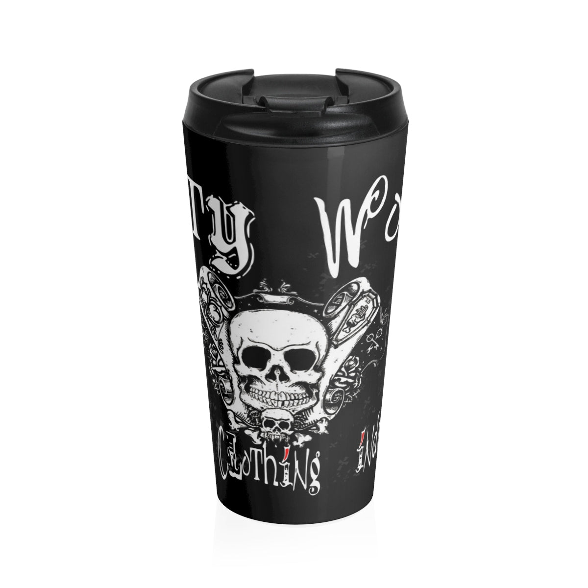 Dirty World /Stainless Steel Travel Mug