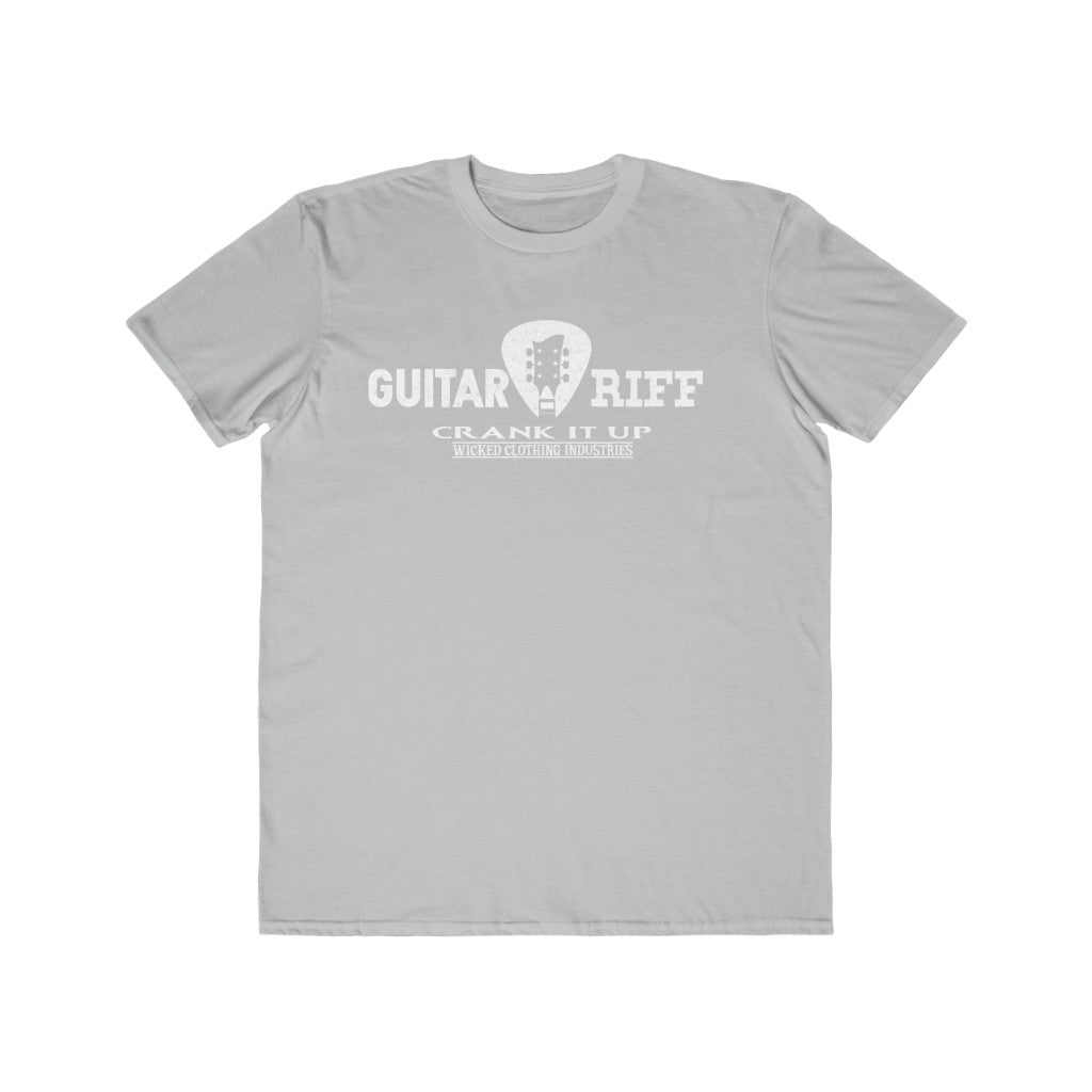 Guitar Riff/ Crank It Up /Men's Lightweight  Tee