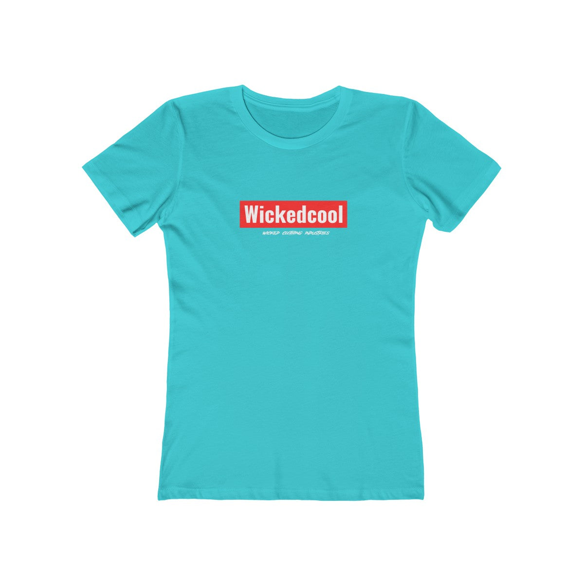 WickedCool/Red/Women's  Tee