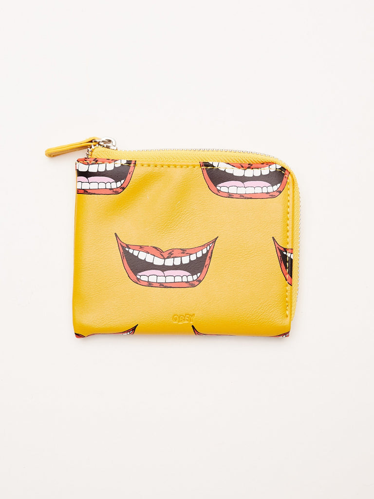 GENTRY LIPS HALF ZIP WALLET