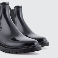 BLACK BLOCK RAINY BOOTS