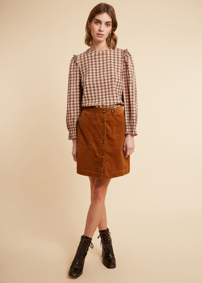 Edwine-Ladies Woven Skirt-67