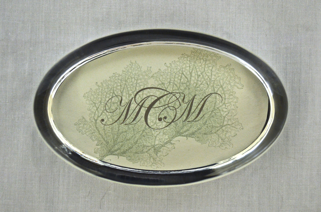 Custom Paperweights -  Oval