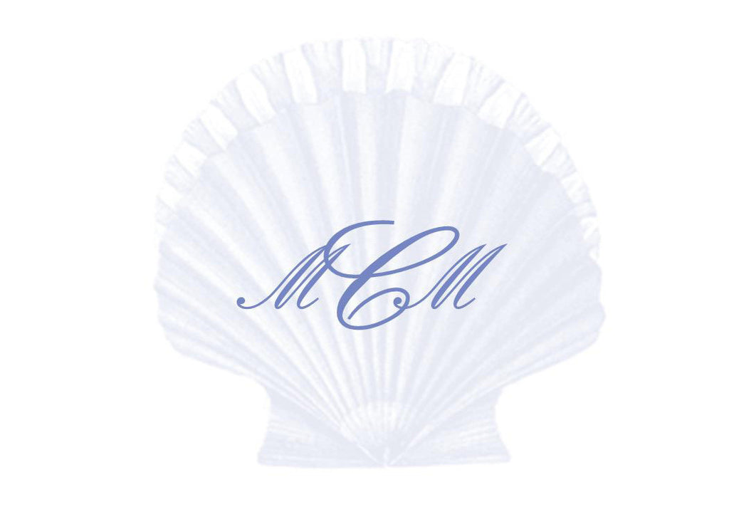Scallop Shell Monogram
