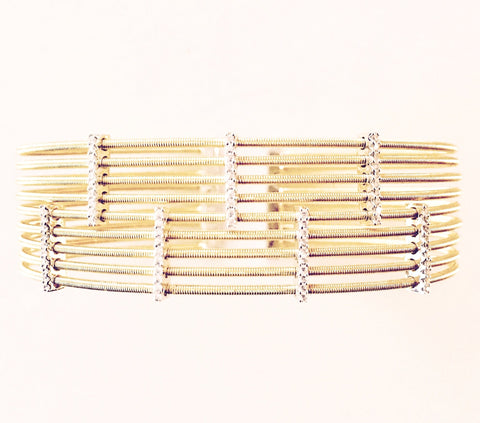 Silver Cuff Inspired by Marco Bicego