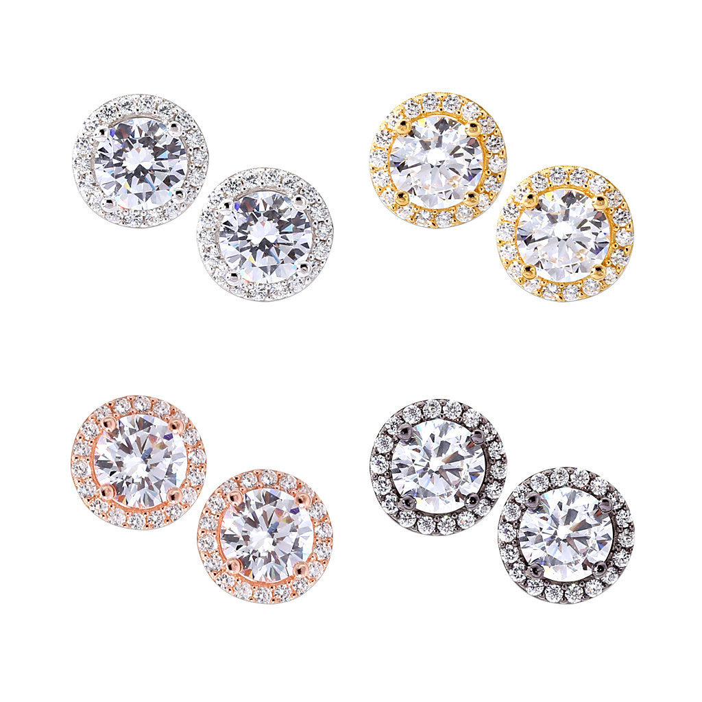 Best Selling Round Stud Earrings – Just Class Jewelry