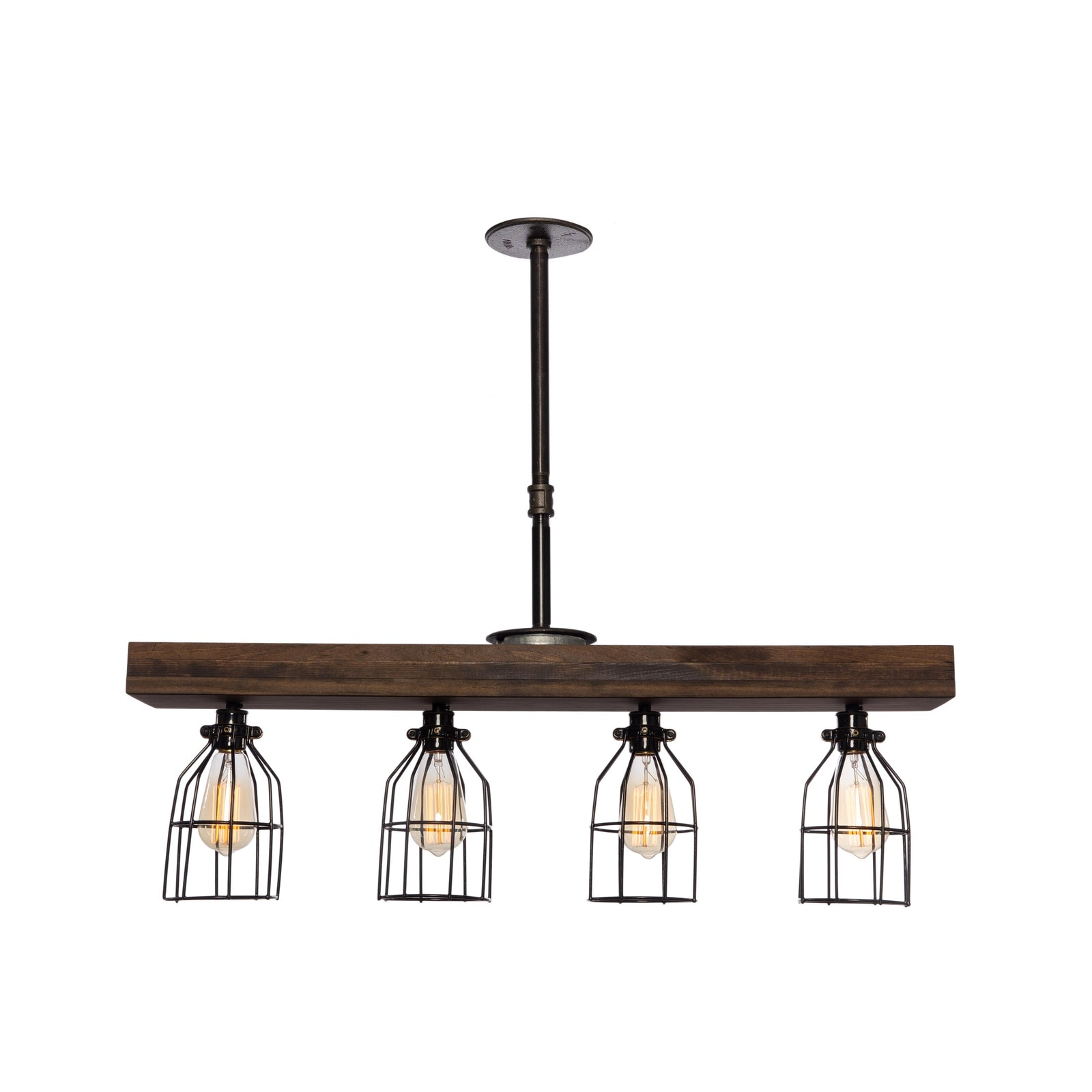 Farmhouse Rustic Industrial Light Fixtures By West Ninth Vintage