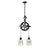 Barn Pulley Light | Black