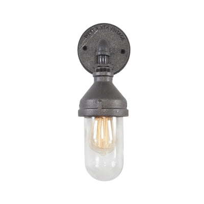 Single Glass Sconce