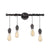 Steel Pendant Vanity Light (4 Lights)