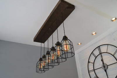Wood Pendant Light