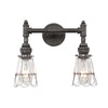 Devon Double Sconce | Wire Cages