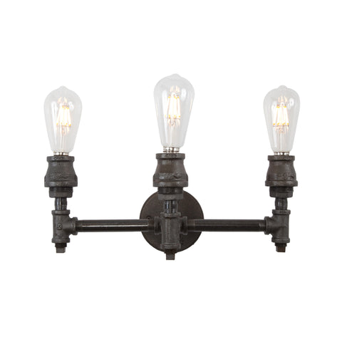 Devon Three Socket Vanity Light