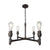 Devon Four Socket Chandelier