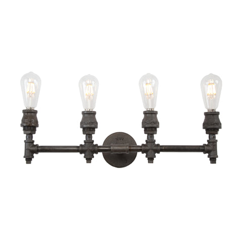 Devon Four Socket Vanity Light