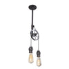 Single Steel Pulley Light